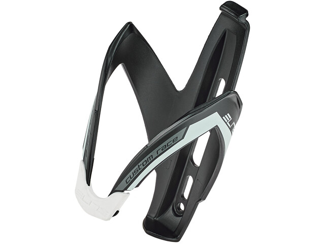 Elite Custom Race Bottle Holder black matte/white